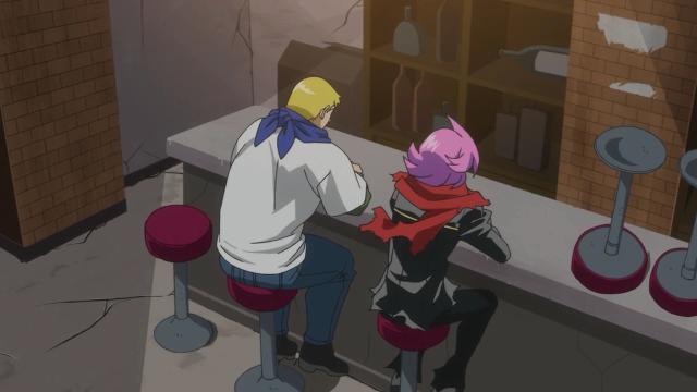 Jonathan e Jirou são parecidos até na forma como se vestem