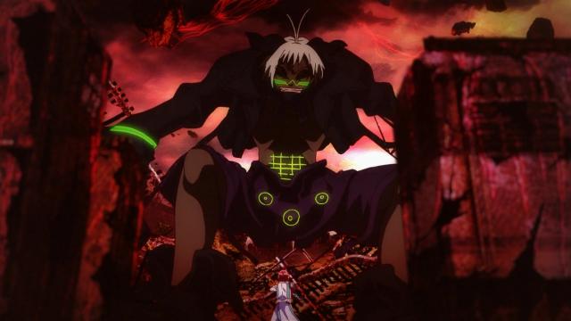 Mais um kegare estranho apareceu, mas não foi problema pro Rokuro