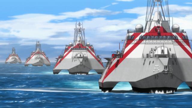 Os trimarãs (navios de casco triplo) das Blue Mermaids