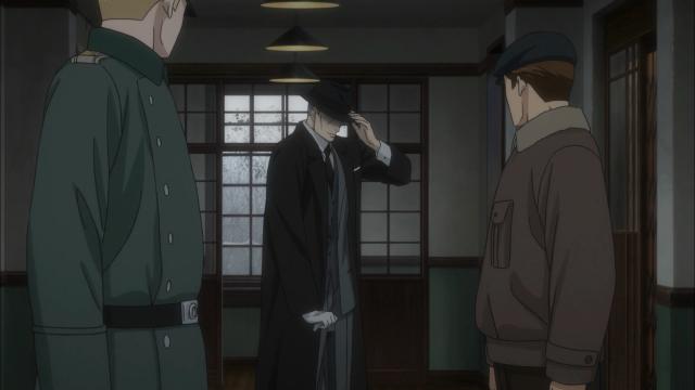 Yuki se esgueira debaixo dos narizes dos soldados alemães
