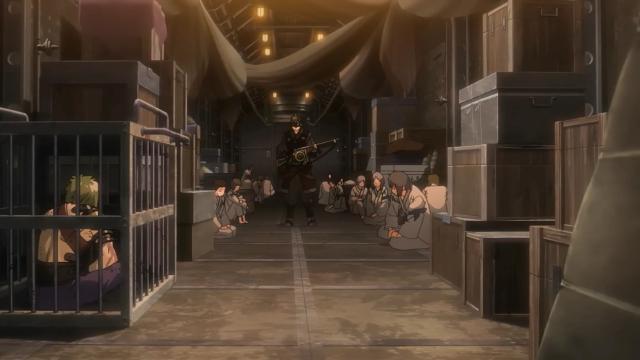 Achei meio burro o Ikoma ter ficado preso junto com os outros