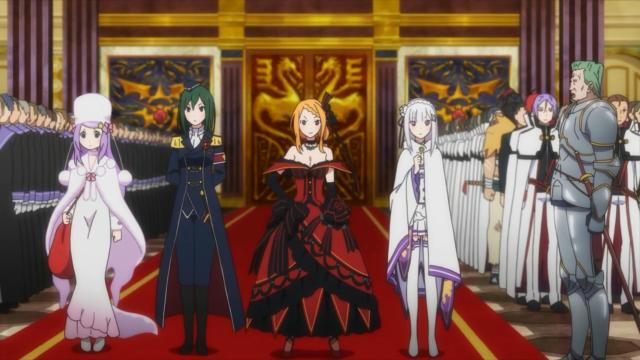 Uma dessas quatro garotas (ou a Felt) será o próximo rei. O bom é que elas vêm codificadas por cor para não precisarmos decorar seus nomes