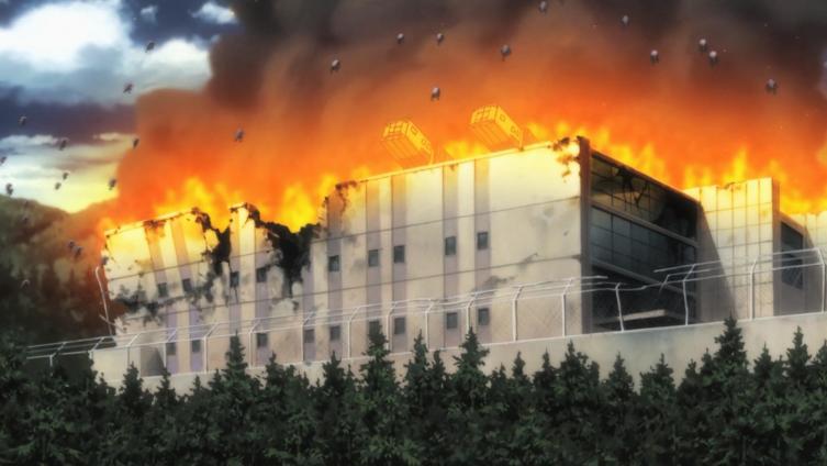 Instituto HAMMR em chamas