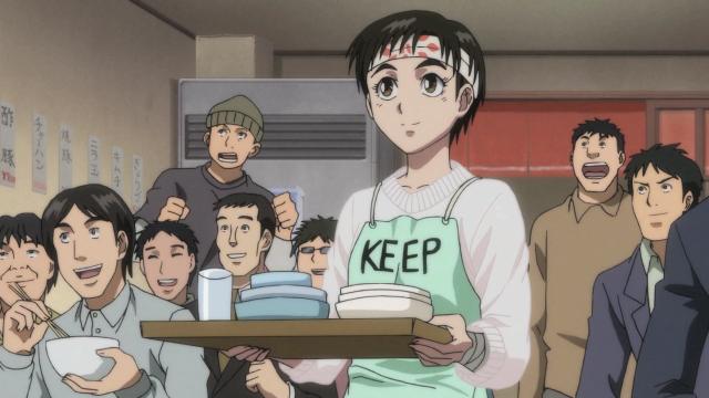 Mantenha o cabelo assim, Asako