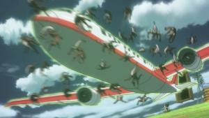 O avião do além