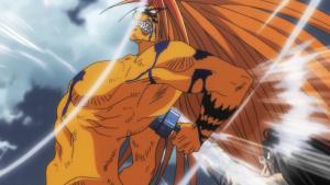 Tora sabe como derrotar o Hakumen