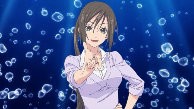 Professora Katori sabe tudo de mergulho