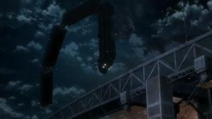 Depois esse trem ainda explodiu! E o vilão saiu da explosão andando! Fantástica cena de ação
