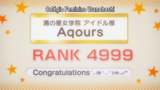 As Aqours enfrentarão muitos desafios para subir no ranking e se classificar para o Love Live!