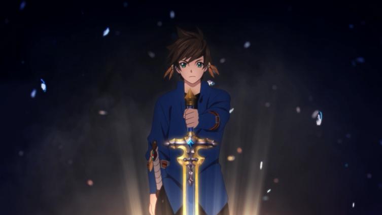 Sorey conseguiu a espada da Dama do Lago (Lailah). Coisa de JRPG