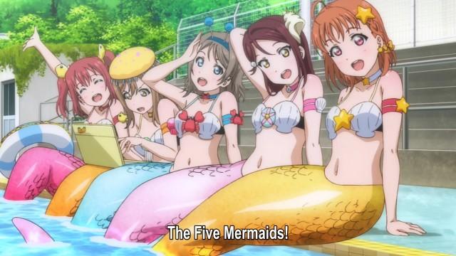 The Five Mermaids ou Aqours, qual nome vocês preferem?