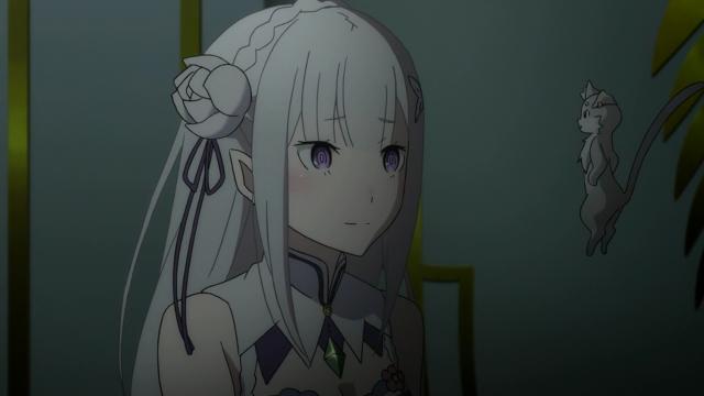 A Emilia não parece ciente de tudo o que está acontecendo