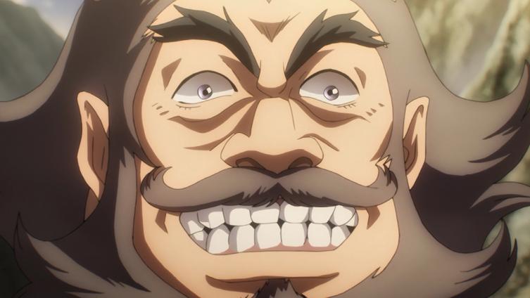 """Essa é a cara do general do exército """"sagrado"""" de Aldera"""