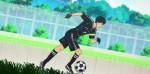 E o Mizuki conseguiu pegar a bola...