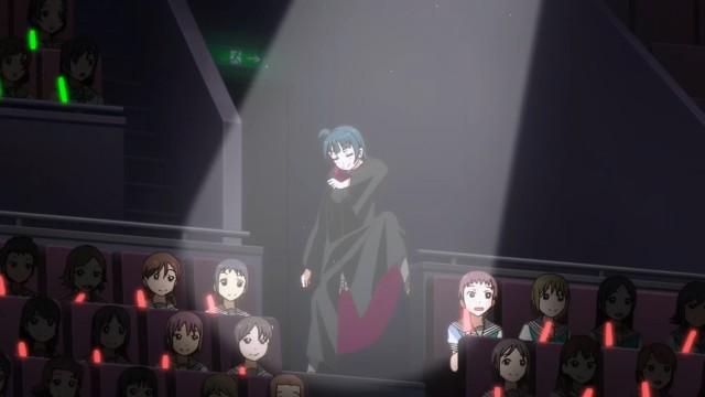 Um dos destaques cômicos do anime.