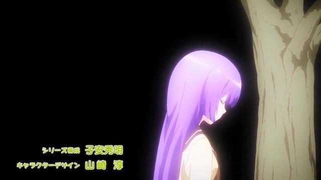 Embora a abertura seja alegre, essa parte da mesma é melancólica pois representa a solidão da personagem Yoko.