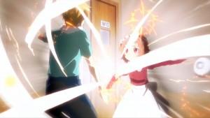 Essa cena de luta não deve nada a qualquer Battle Shounen.