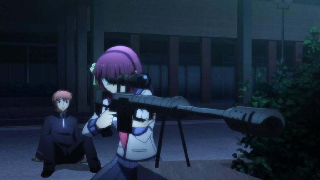 O encontro de Otonashi com Yuri.