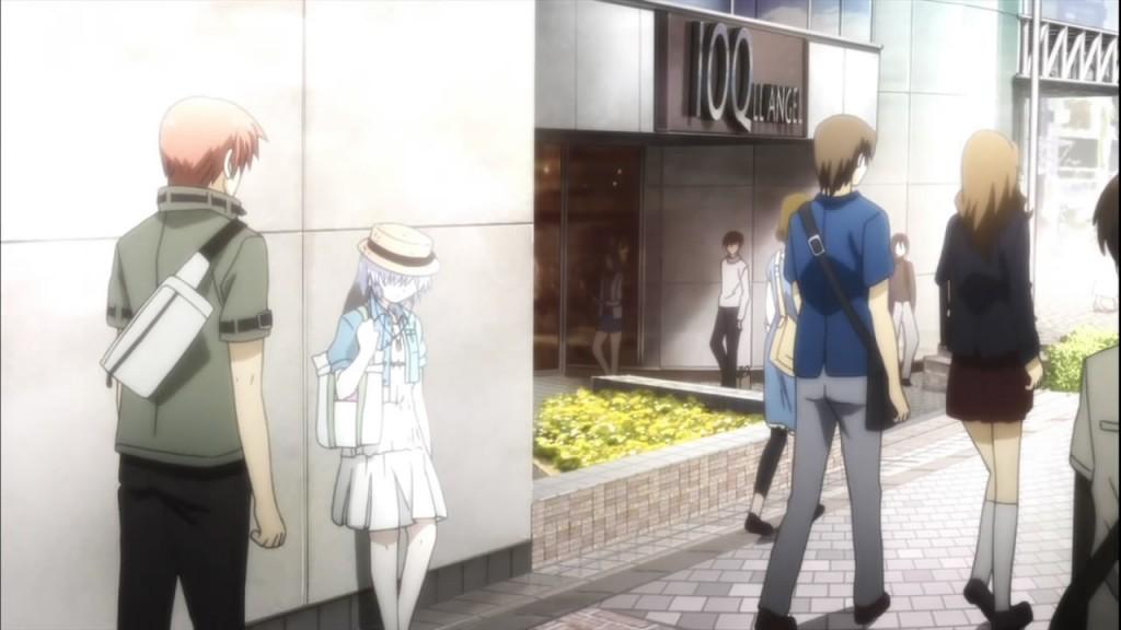 """Após reencarnarem, Otonashi e Kanade se """"encontram"""" novamente."""