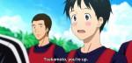 Assim como Tsukamoto, que entrou nos 20 minutos finais, no lugar de Ooshiba-senpai.
