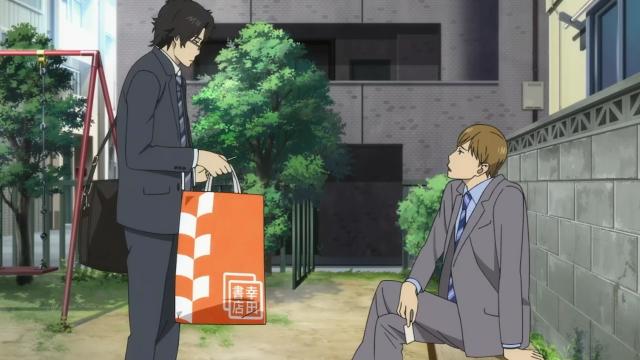 Esse foi o primeiro contato entre Majime e Nishioka. Eles vão ter muito tempo juntos de agora em diante...