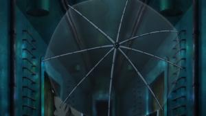 Aparelho usado por Inoue para tornar-se invisível.