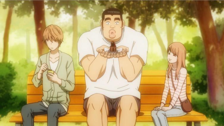 Suna, Takeo e Yamato.