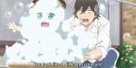E quando o Souta deu um banho no tanuki.
