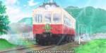 E a comparação do trem antigo com o novo.
