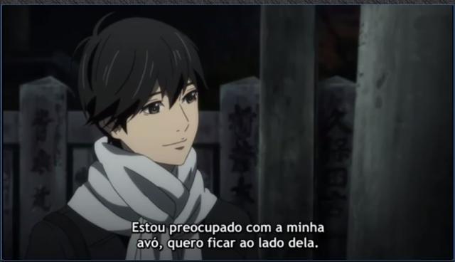 Kakeru então encontra sua resposta, se é certa ou errada, só o tempo dirá