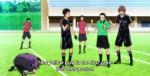 O cartão amarelo que o Mizuki recebeu. Se receber mais um, ele não pode mais jogar.