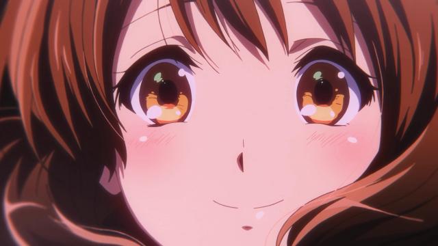 Olhe o tamanho da felicidade da Kumiko com a resposta da Reina