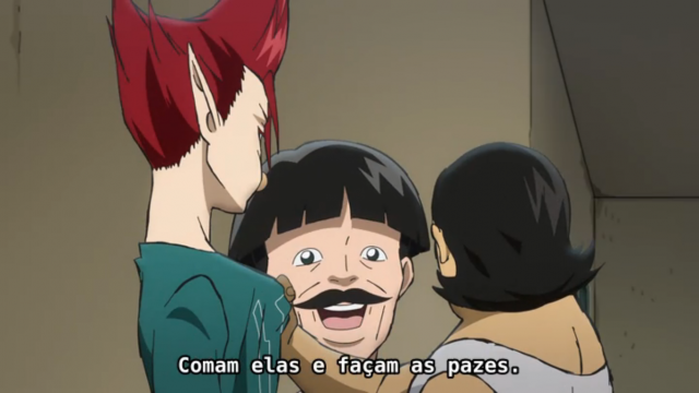 Todo mundo, comam as bolas do Yamada e vamos ser felizes