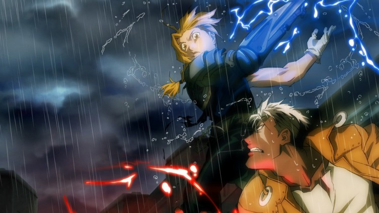 Edward Elric vs Scar