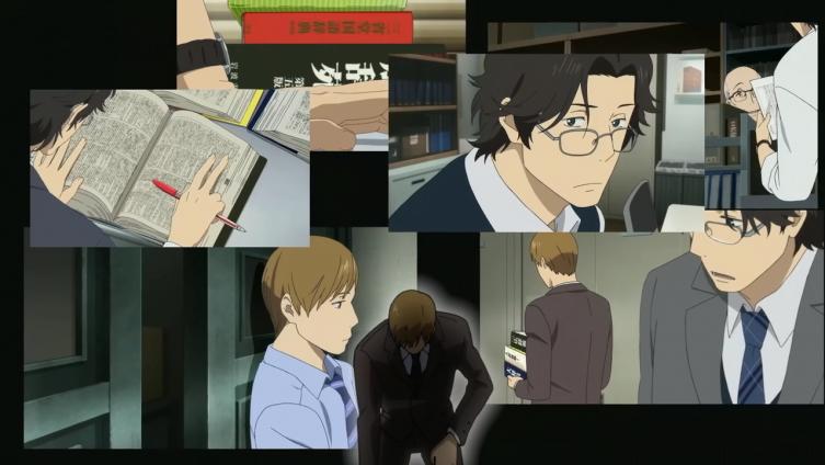 Nishioka instantes antes de se tornar super-saiyajin