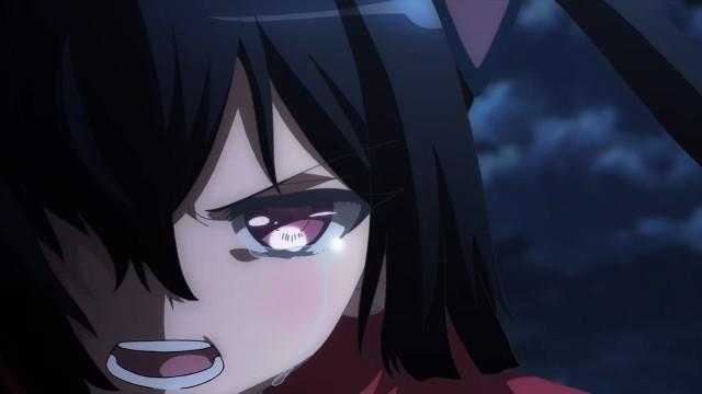 A ninja está com sangue nos olhos, pronta para vingar a morte da sua companheira.