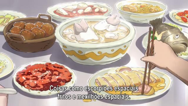 Escolhe uma comida e acrescenta espacial, mudou tudo sim