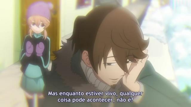 Essa frase descreve esse anime, por isso achei justo colocar ela com esse destaque