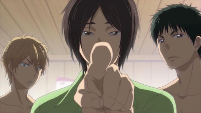 Mutsumi mostrando quem é que manda.