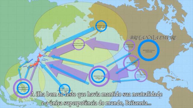 Tem umas variações de cores aí no mapa, não consigo decidir se é tudo Britannia ou não