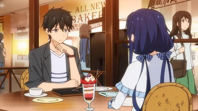 Masamune e Aki em um encontro