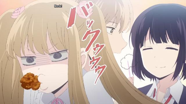 Isso foi algo que quebrou o clima tenso do anime.