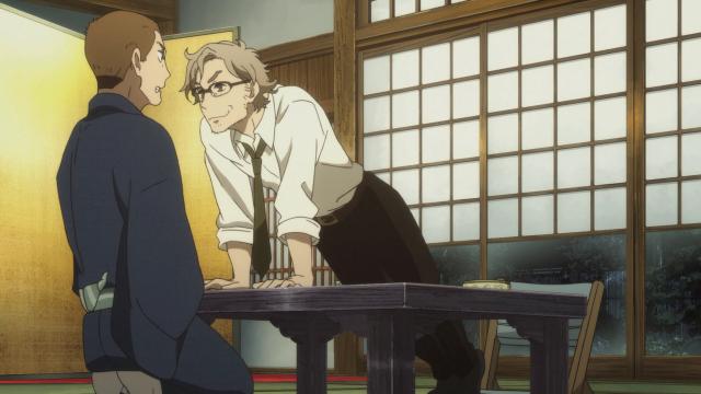 Esses dois, juntos, irão criar um novo rakugo!