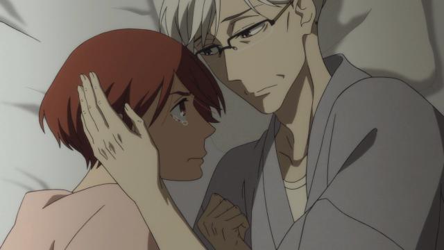Konatsu quer, mas como odiar o homem que a criou com tanto cuidado?