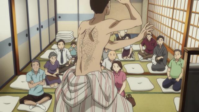 O passado como yakuza não tem ajudado Yotaro