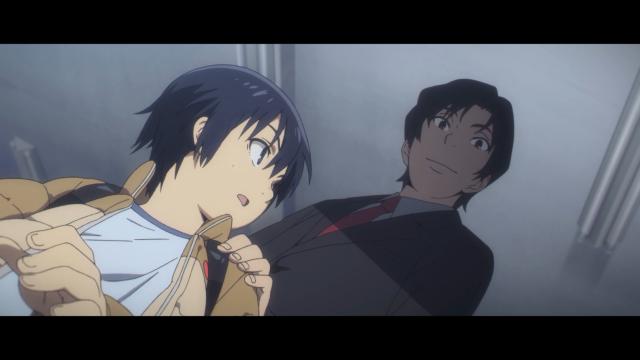 O espectador sabe tudo, mas Satoru não sabe nada em Erased (Boku Dake ga Inai Machi)