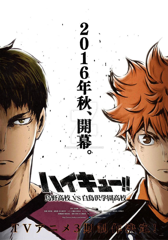 Haikyuu!!: Karasuno Koukou VS Shiratorizawa Gakuen Koukou