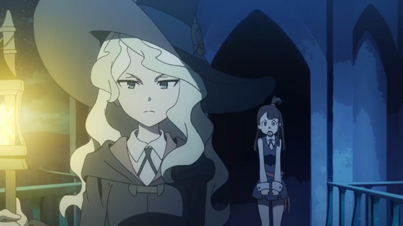 Little witch academia episodio 1 - 4 6