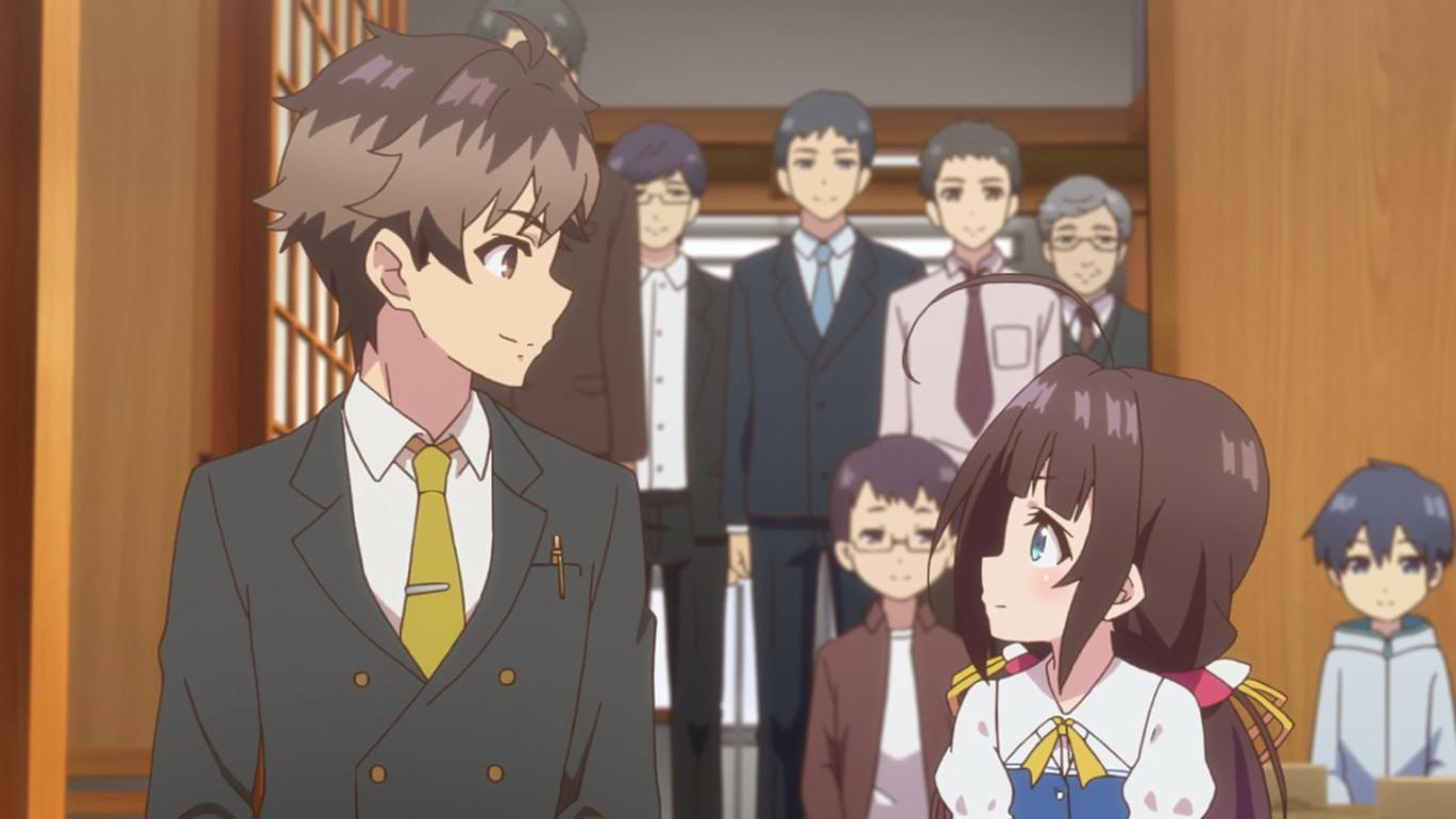 Ryuuou no Oshigoto! – ep 3 – Mestre e Discípula | Anime21