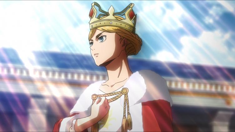Historia coroada rainha